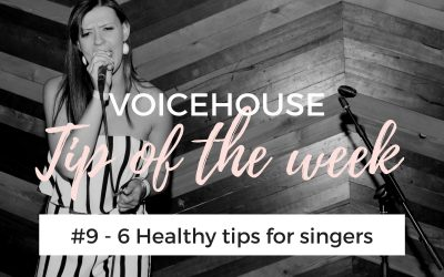 Singing tips for beginners #9 | 6 Healthy Tips for singers
