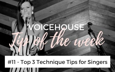 Singing tips for beginners #11 | Top 3 Techniques for Singers